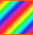 bright seamless rainbow puzzle vector image vector image