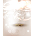 Bright White Background with Sunlight Rays vector image vector image