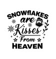 christmas lettering quote silhouette calligraphy vector image vector image
