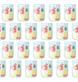Jar seamless pattern Summer background vector image vector image
