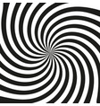 black ray retro background stylish design vector image vector image