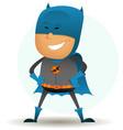 cartoon-comic-super-hero-six vector image vector image