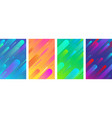 colorful backgrounds with abstract geometric vector image