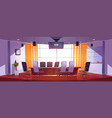 conference room for business meetings vector image