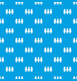 girl boy pattern seamless blue vector image