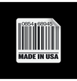 made in usa icon vector image vector image