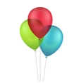 Multicolored Colorful Balloons vector image vector image