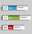 Percent infographic chart design template