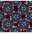 Seamless cute doodle flower pattern vector image vector image