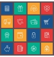 Shopping e-commerce icon vector image vector image