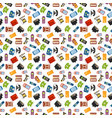 Telephones icons sealess pattern
