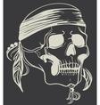 Vintage Skull vector image vector image