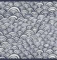 arcs handdrawn pattern-05 vector image vector image