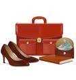 Businesswoman Accessories vector image