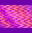colorful gradient with wavy stripes trendy vector image