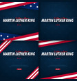 martin luther king day backgrounds i have a dream vector image