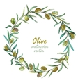 Olives vector image vector image