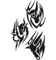 Zodiac Signs - taurus Vinyl-ready set vector image vector image