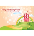 Fairy Tale castle vector image