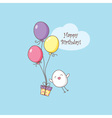 birhday card vector image vector image