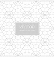 creative seamless hexagonal pattern - delicate vector image
