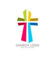 cross of the savior jesus christ vector image vector image