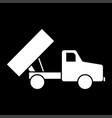 dumper it is icon vector image vector image