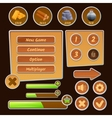 resource icons for games vector image