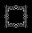 vintage design elements vector image vector image