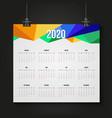 2020 calendar annual schedule planner
