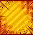 abstract elegant explosive concept vector image vector image