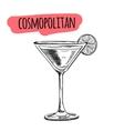 Bar menu of cocktail proposal vector image vector image