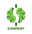 cash dollar logo vector image