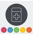 Drug icon vector image vector image
