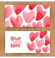 Love card template vector image vector image