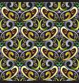 ornamental vintage seamless pattern floral vector image