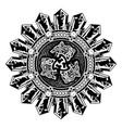 scandinavian tattoo 0019 vector image
