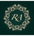 Luxury Logos template flourishes calligraphic vector image