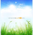 Background with a blue sky vector | Price: 1 Credit (USD $1)