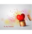 Box With Heart vector image vector image