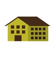 building green ecology icon vector image