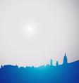city gray vector image vector image