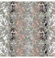 damask baroque seamless pattern vector image vector image