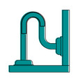 pipe or drain icon image vector image