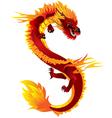 dragon full color vector image