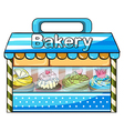 A bakery vector image vector image