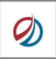 abstract accounting financial management logo vector image vector image
