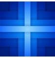 Abstract background with blue paper layers vector image vector image