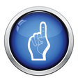American football foam finger icon