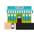 building place restaurant menu vector image